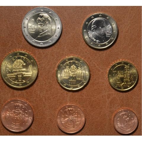 Sada 8 rakúskych mincí 2011 (UNC)
