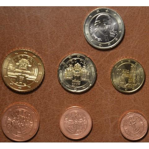 Sada 7 rakúskych mincí 2007 (UNC)