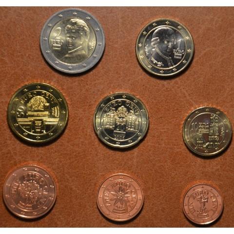 Sada 8 rakúskych mincí 2006 (UNC)