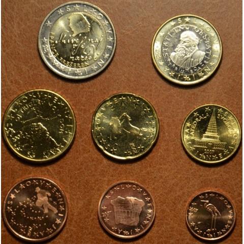 Sada 8 mincí Slovinsko 2007 (UNC)