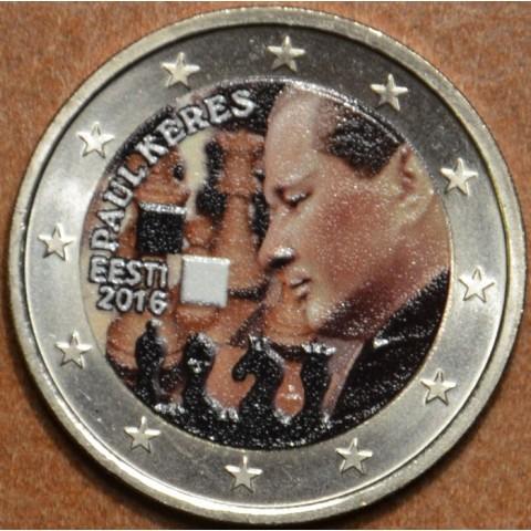 2 Euro Estónsko 2016 - Paul Keres V. (farebná UNC)