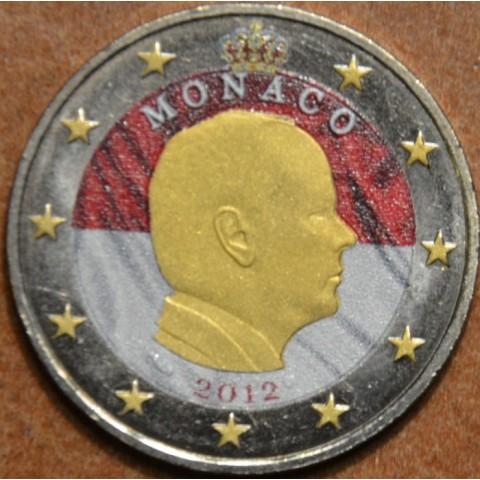 2 Euro Monaco 2012 (farebná UNC)