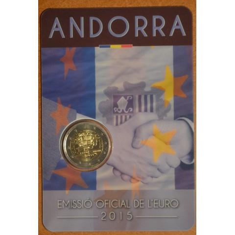 2 Euro Andorra 2015 - 25. výročie colnej dohody s EU (BU)