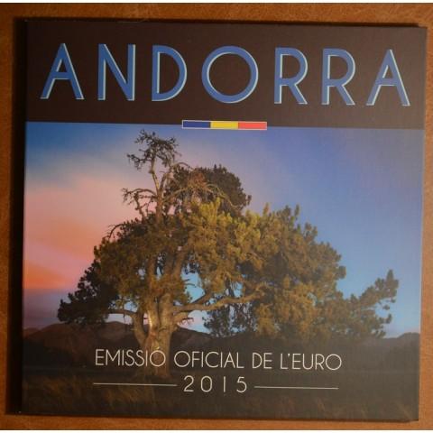 Sada 8 mincí Andorra 2015 (BU)