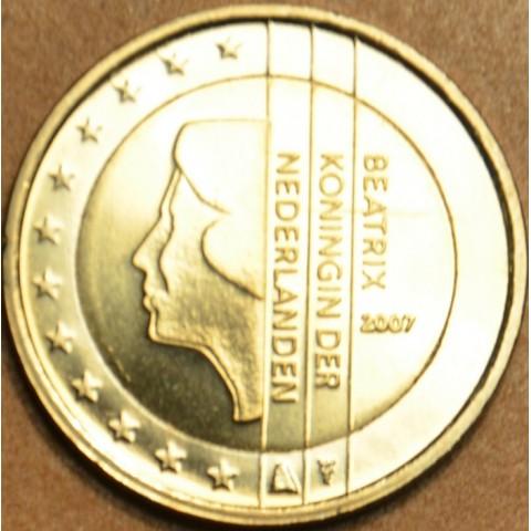 2 Euro Holandsko 2007 - Kráľovná Beatrix (UNC)