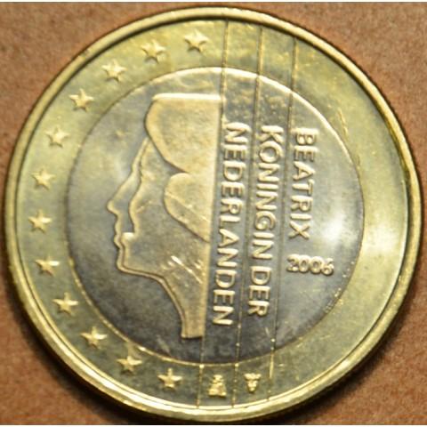 1 Euro Holandsko 2006 - Kráľovná Beatrix (UNC)