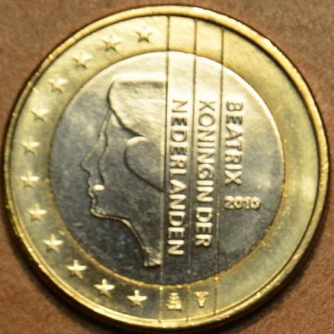 1 Euro Holandsko 2010 - Kráľovná Beatrix (UNC)