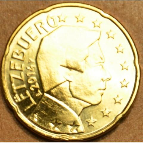 20 cent Luxembursko 2014 (UNC)