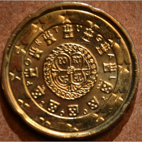 20 cent Portugalsko 2002 (UNC)
