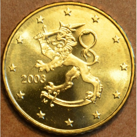 50 cent Fínsko 2003 (UNC)