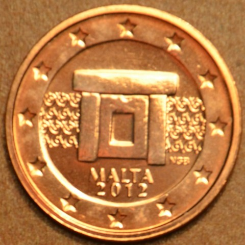 2 cent Malta 2012 (UNC)