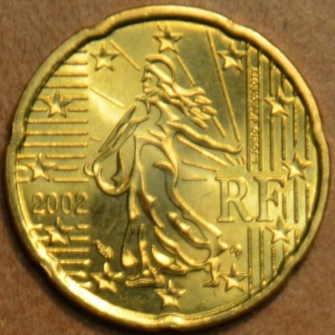 20 cent Francúzsko 2002 (UNC)