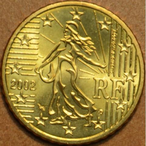 50 cent Francúzsko 2002 (UNC)