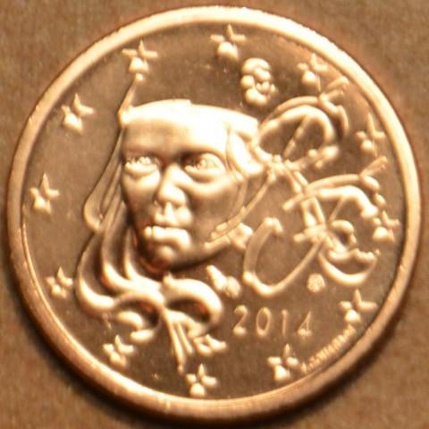 5 cent Francúzsko 2014 (UNC)