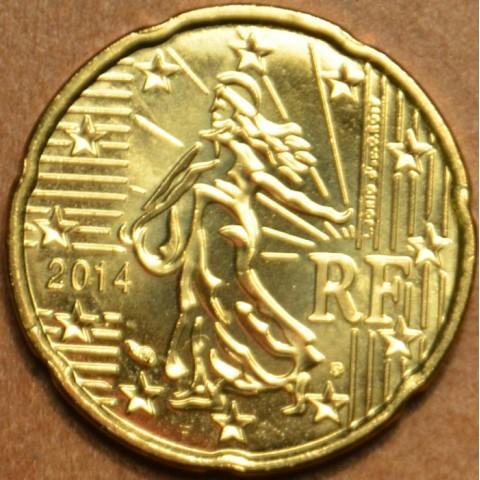 20 cent Francúzsko 2014 (UNC)