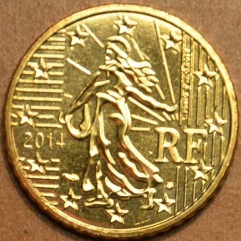 50 cent Francúzsko 2014 (UNC)