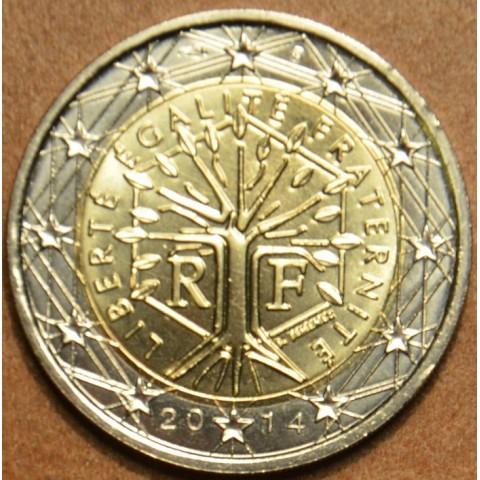 2 Euro Francúzsko 2014 (UNC)