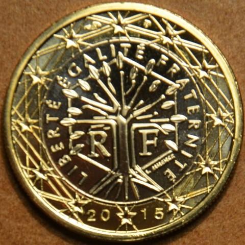 1 Euro Francúzsko 2015 (UNC)