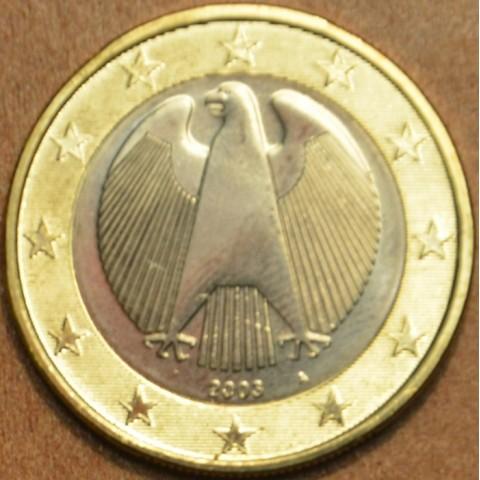 """1 Euro Nemecko """"A"""" 2003 (UNC)"""