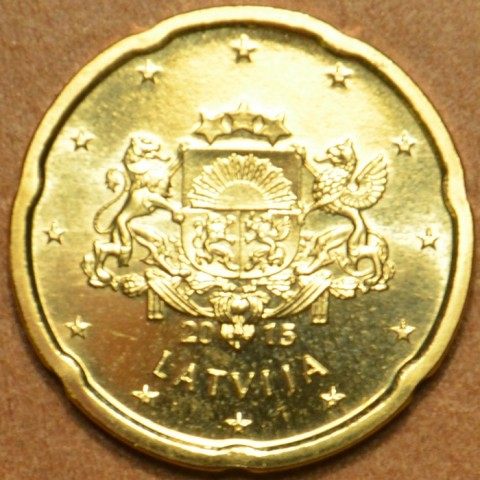 20 cent Lotyšsko 2015 (UNC)