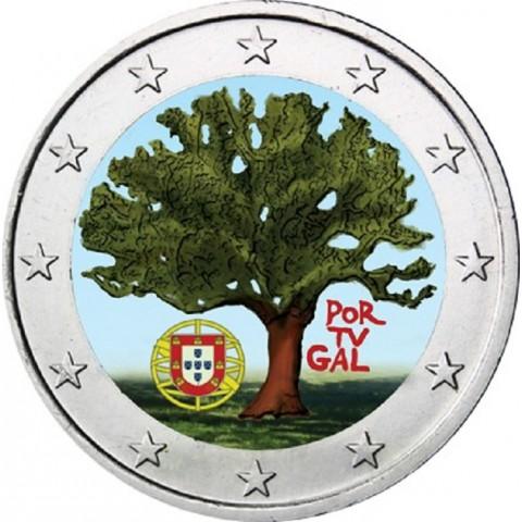 2 Euro Portugalsko 2007 - Portugalské predsedníctvo EÚ II. (farebná UNC)