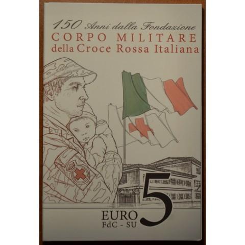 5 Euro Taliansko 2016 - Červený kríž (BU karta)
