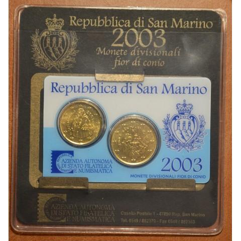 20+50 cent San Marino 2003 (UNC)