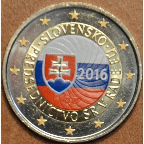 2 Euro Slovakia 2016 - EU presidency V. (colored UNC)