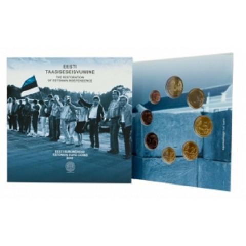 Sada 8 euromincí Estónsko 2016 (UNC)