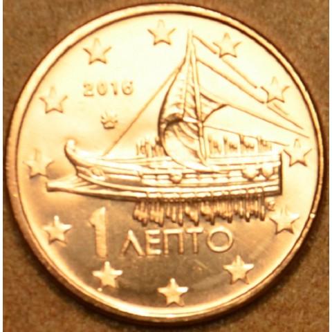 1 cent Grécko 2016 (UNC)