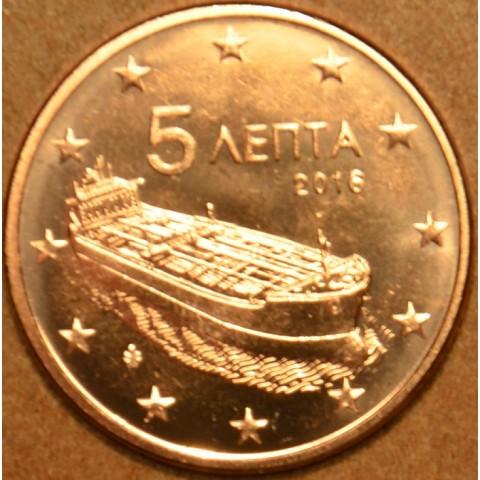 5 cent Grécko 2016 (UNC)