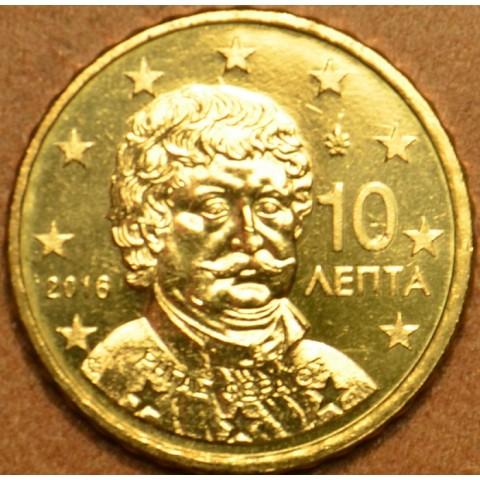 10 cent Grécko 2016 (UNC)