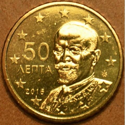 50 cent Grécko 2016 (UNC)