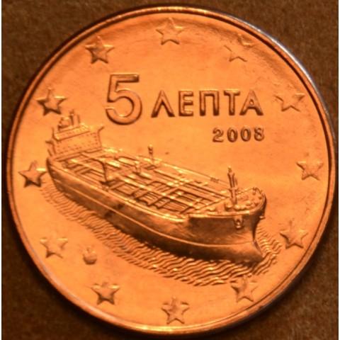 5 cent Grécko 2008 (UNC)