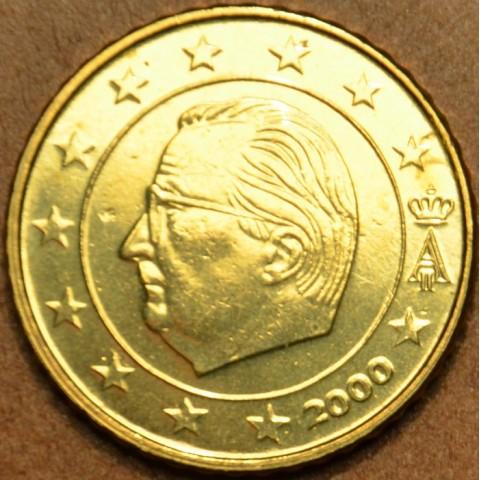 50 cent Belgicko 2000 (UNC)