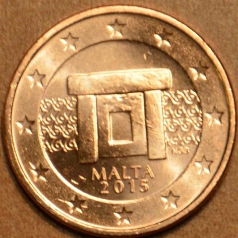 2 cent Malta 2015 (UNC)