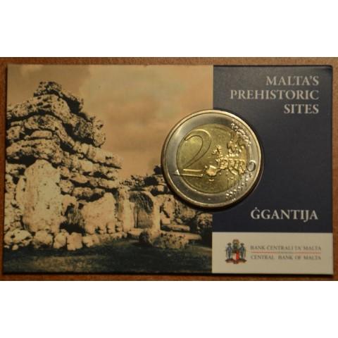 2 Euro Malta 2016 - Temples of Ggantija (BU card)