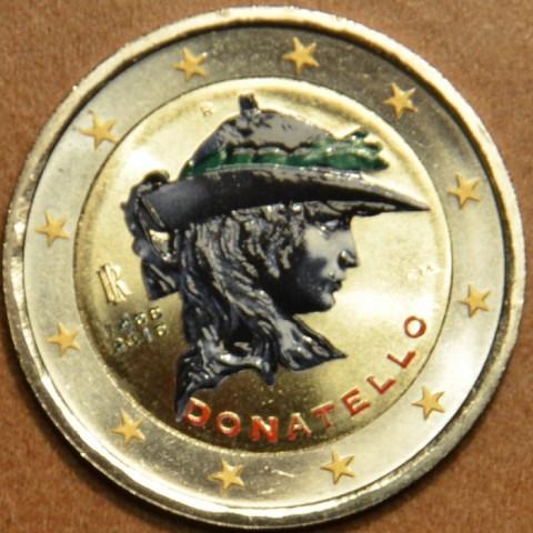 2 Euro Italy 2016 - 550th anniversary of the death of Donatello III. (colored UNC)