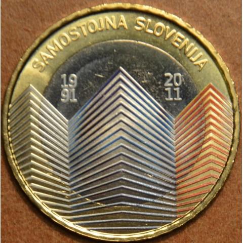 Commemorative coin 3 Euro Slovenia 2011 (colored UNC)