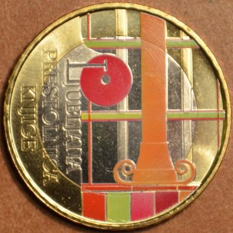 Commemorative coin 3 Euro Slovenia 2010 (colored UNC)