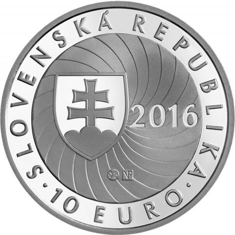 10 Euro Slovakia 2016 - First Slovak Presidency of the Council of the European Union (BU)