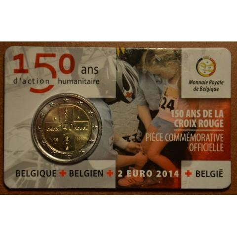 2 Euro Belgicko 2014 - 150. výročie belgického Červeného kríža (BU)