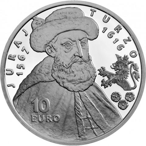 10 Euro Slovakia 2016 - Juraj Turzo (BU)