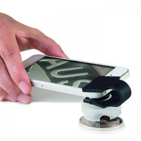 Leuchtturm phonescope 60x magnifier for smartphones