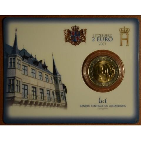 2 Euro Luxembursko 2007 - Veľkovojvodský palác (BU karta)