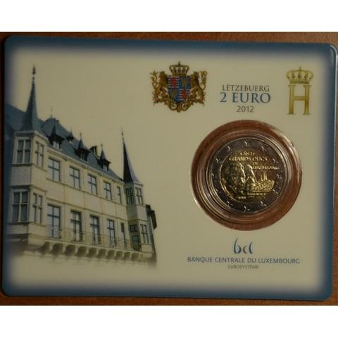 2 Euro Luxembursko 2012 - 100. výročie úmrtia Viliama IV.  (BU karta)