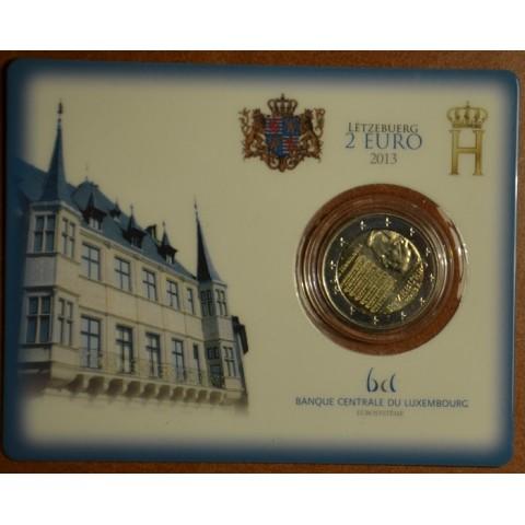 2 Euro Luxembursko 2013 - Národná hymna (BU karta)