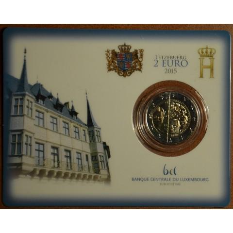 2 Euro Luxembursko 2015 - Dynastia Nassau-Weilburg (BU karta)