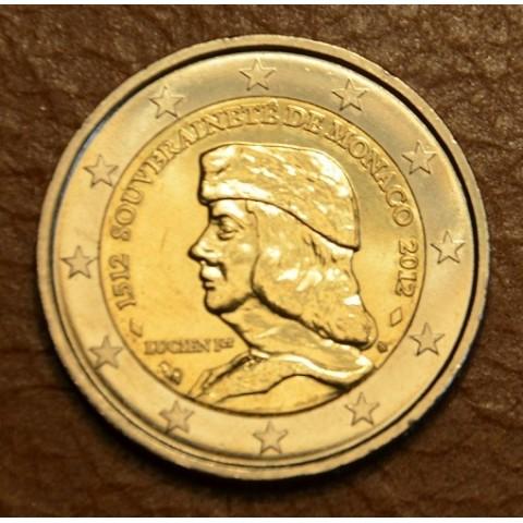 2 Euro Monaco 2012 - 500. výročie nezávislosti (UNC)