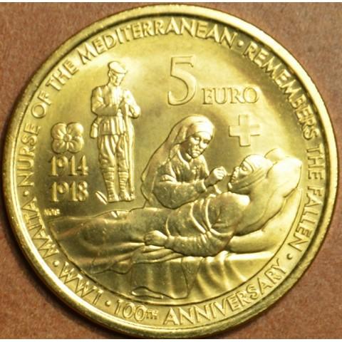 5 Euro Malta 2014 - Prvá svetová vojna (UNC)